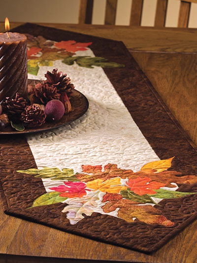 Shades of Autumn Table Runner Pattern