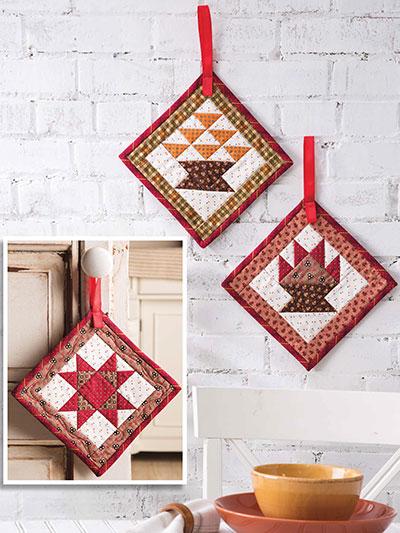 Harvesttime Door Hangers Pattern