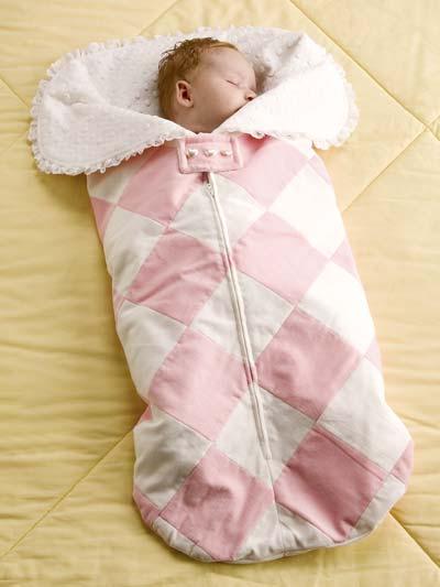 Cuddly Baby Bunting
