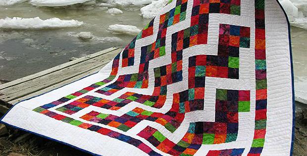 Confetti Steps Quilt Pattern