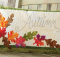 Simply Autumn Bench Pillow Pattern