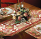 Blooming Roses Runner and Place Mats Pattern