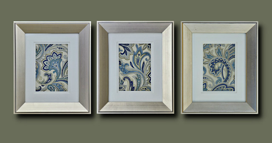 Frame Pretty Fabric for Quick and Lovely Decor