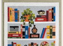 Bookcase Quilt Pattern