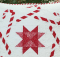Candy Canes Quilt Block Pattern