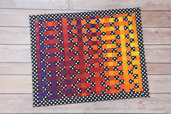 Learn Fabric Weaving with This Mini Quilt Project