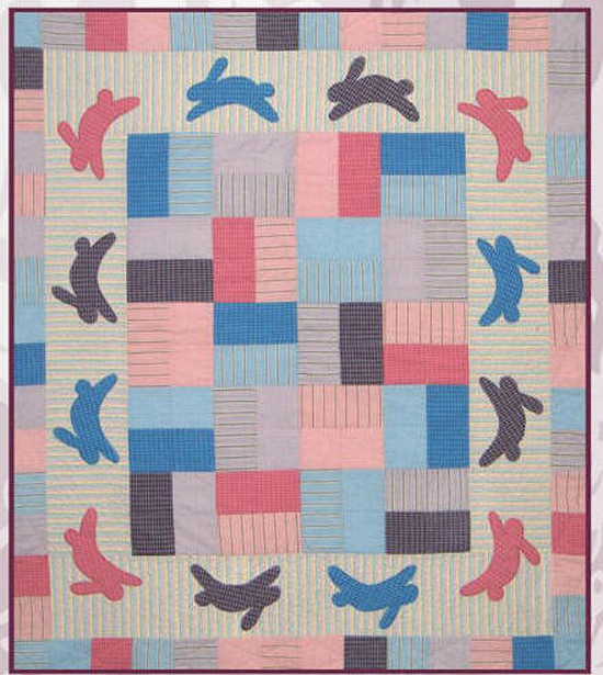 Bunny Chase Baby Quilt Pattern