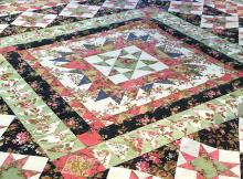 Garden Star Medallion Quilt Pattern