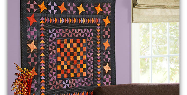 Glow in the Dark Quilt Pattern