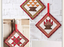 Harvesttime Door Hangers Pattern