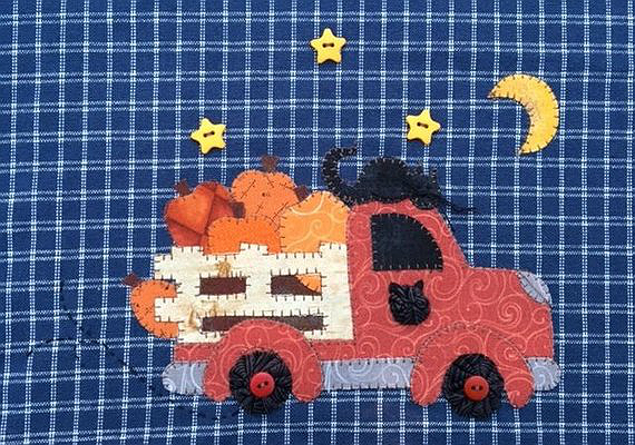 Fall Delivery Applique Pattern