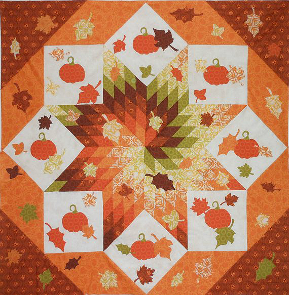 Fall Frenzy Quilt Pattern