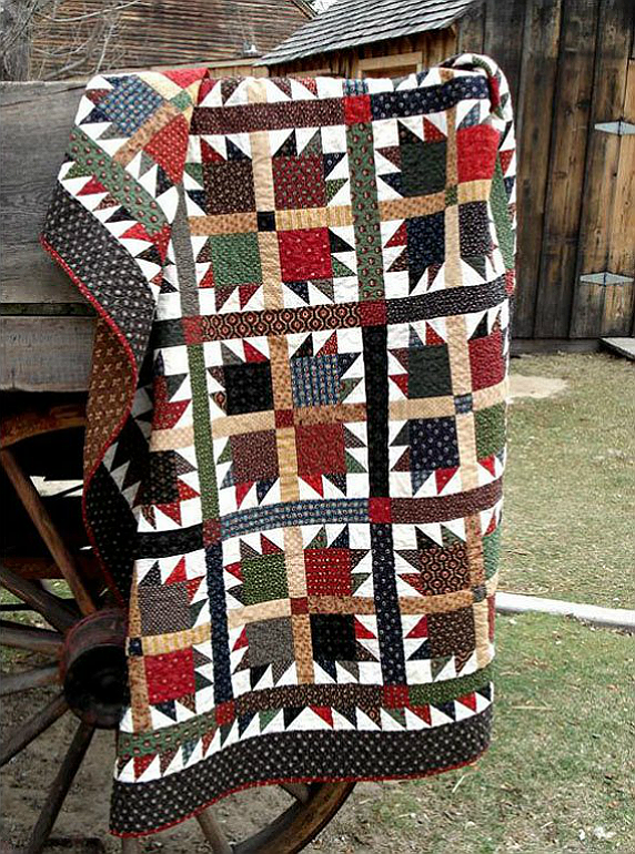 Grizzly Bear Quilt Pattern