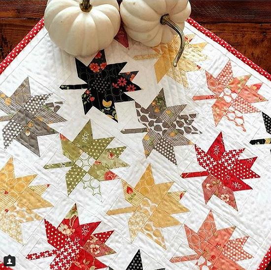 Maple Charm Mini Quilt Pattern