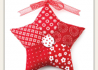 Patchwork Star Ornament Pattern