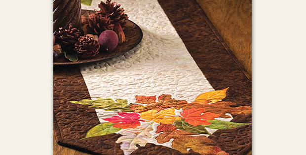 Shades of Autumn Table Runner Pattern