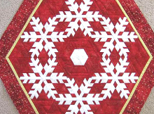 Snow Dreams Tree Skirt Pattern