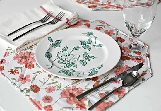 Gather Round Placemats Pattern