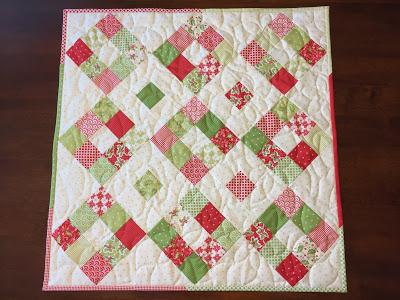 Square Dance Mini Quilt Tutorial