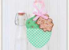 Acorn Fabric Ornaments Tutorial