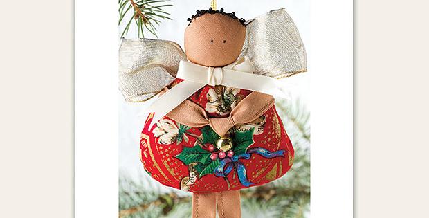 Primitive Angel Ornament Pattern