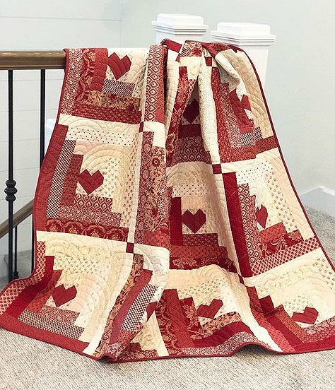 Hearts at Home Quilt Pattern
