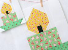 Candle Quilt Block Pattern