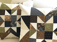 Cottage Star Pillows Pattern