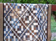 Diamonds on the Run Quilt Pattern