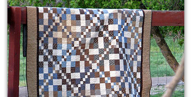 Diamonds on the Run Quilt Pattern