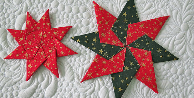 Fabric Star Ornament Tutorial