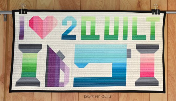 I Love 2 Quilt Pattern