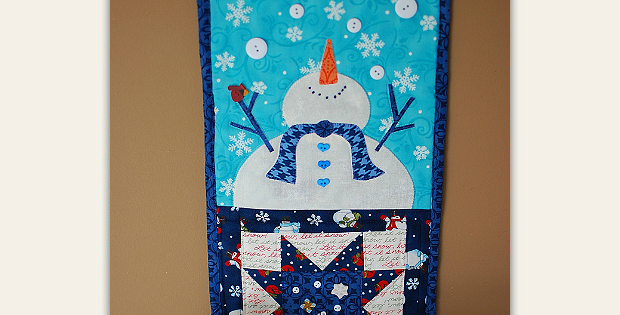 Let It Snow! Banner Pattern