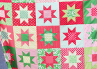 No Point Stars Quilt Pattern