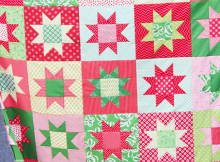 No Point Stars Quilt Pattern