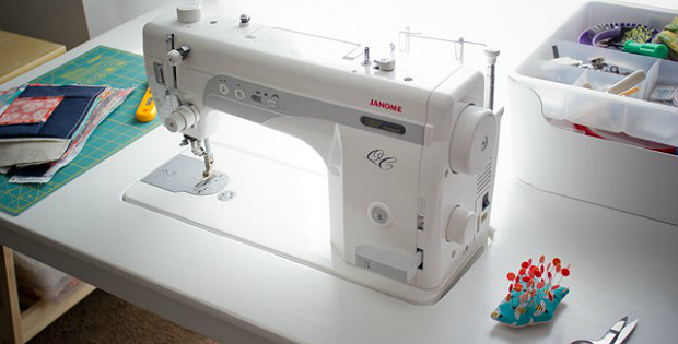 Create A Custom Sewing Table With This IKEA Hack Quilting Digest Impressive How To Use Ikea Sewing Machine