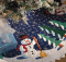 Friendly Snowman Tree Skirt Pattern