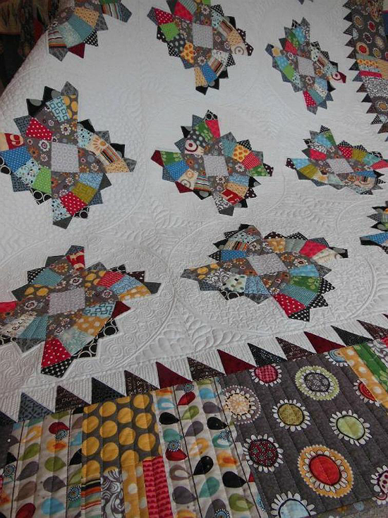 Twirling Fans Quilt Pattern