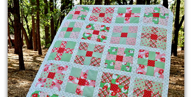 Uneven 9-Patch Quilt Pattern