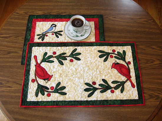 Winter Friends Table Toppers Pattern
