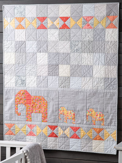 Elephant Walk Quilt Pattern