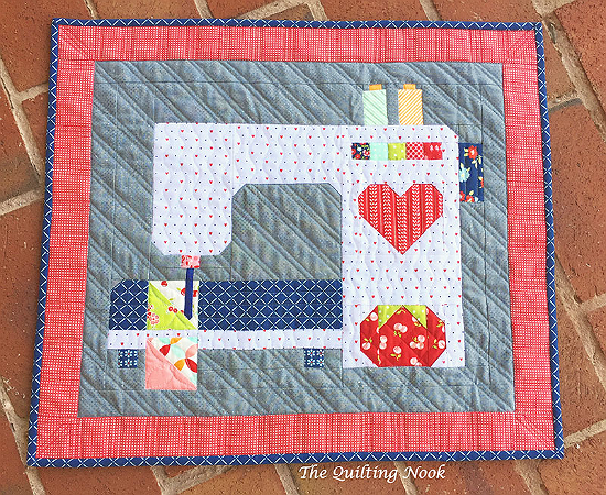 Stitched with Love Mini Quilt Pattern