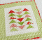 Christmas Mini Quilt Tutorial