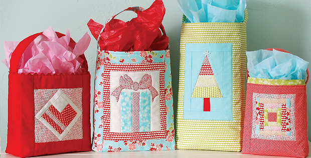 9d241833eae42 Make Charming Fabric Gift Bags for Any Occasion - Quilting Digest