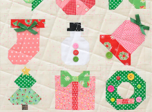 Holly Jolly Mini Sampler Quilt