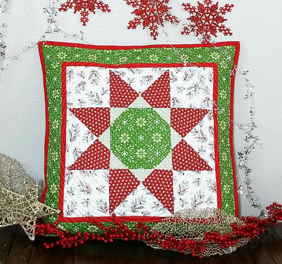 Octagon Star Pillow Pattern