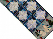 Cabin Flurries Table Runner Pattern