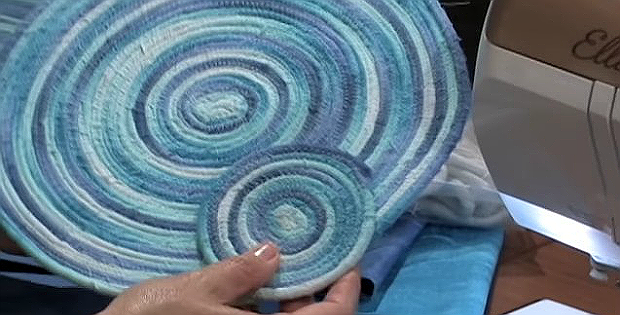 Learn how to make quick coiled fabric projects