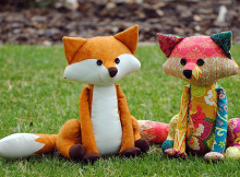 Francie the Fox Sewing Pattern