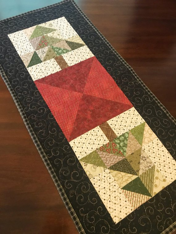 Christmas Mountain Quilt Pattern